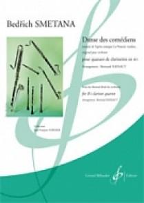 SMETANA B. DANSE DES COMEDIENS CLARINETTES