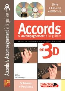 DESGRANGES B. ACCORDS & ACCOMPAGNEMENT EN 3D GUITARE TAB