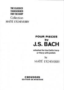 BACH J.S. 4 PIECES HARPE