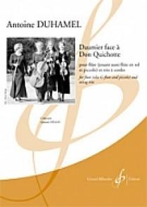 DUHAMEL A. DAUMIER FACE A DON QUICHOTTE