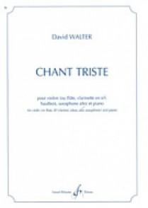 WALTER D. CHANT TRISTE VIOLON