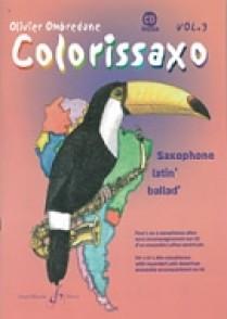 OMBREDANE O. COLORISSAXO VOL 3 SAXOPHONE