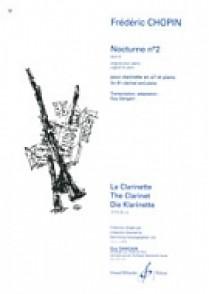 CHOPIN F. NOCTURNE N°2 OP 9 CLARINETTE