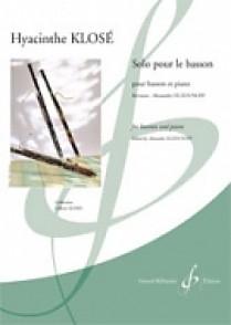 KLOSE H.E. SOLO POUR LE BASSON