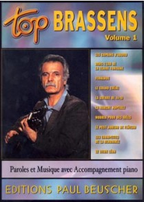 TOP BRASSENS VOL 1 PVG