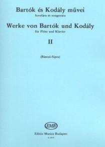 BARTOK B./KODALY Z. WORKS BY BARTOK VOL 2 FLUTE