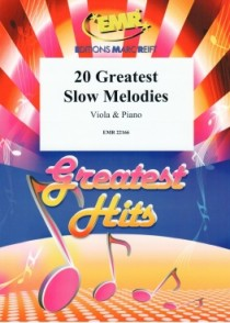20 GREATEST SLOW MELODIES ALTO