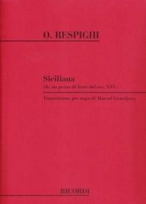 RESPIGHI  O. SICILIENNE HARPE