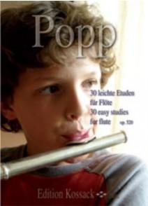 POPP W. 30 LEITCHE ETUDEN FLUTE