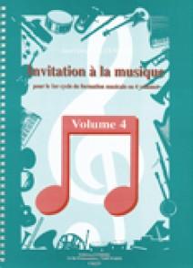 ALEXANDRE J.F. INVITATION A LA MUSIQUE VOL 4