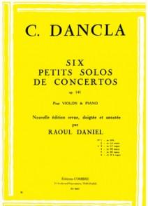 DANCLA C. PETIT SOLO DE CONCERTO OP 141 N°3 VIOLON