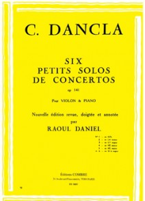 DANCLA C. PETIT SOLO DE CONCERTO OP 141 N°6 VIOLON