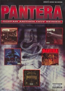 PANTERA GUITAR ANTHOLOGY SERIES