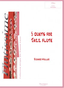 MULLER R. DUETS FOR JAZZ FLUTES