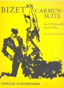 BIZET G. CARMEN SUITE VIOLONCELLES