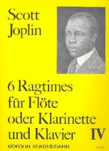 JOPLIN S. 6 RAGTIMES VOL 4 FLUTE/CLARINETTE/BASSON