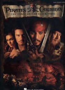PIRATES OF THE CARIBBEAN THE CURSE OF BLACK PEARL PIANO