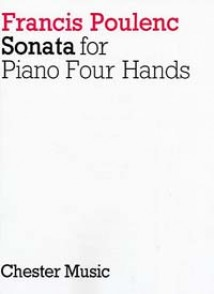 POULENC F. SONATA PIANO 4 MAINS