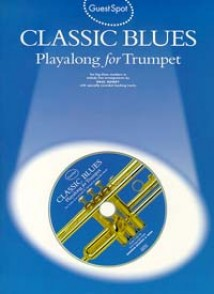 GUEST SPOT CLASSIC BLUES PLAYALONG TRUMPET