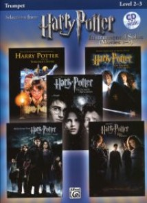 POTTER HARRY SELECTIONS INSTRUMENTAL SOLOS MOVIES 1-5  TRUMPET