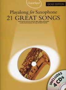 GUEST SPOT 21 GREAT SONGS GOLD SAXO
