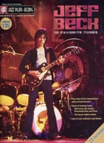 JAZZ PLAY ALONG VOL 135 JEFF BECK EB, BB, C INST. BASS CLEF