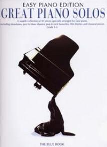 GREAT PIANO SOLOS EASY PIANO BLUE EDITION