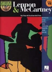 DRUM PLAY-ALONG VOL 15 LENNON J./ MC CARTNEY