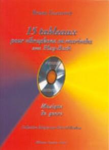 LESCARRET B. 15 TABLEAUX VIBRAPHONE