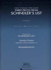 WILLIAMS J. SCHINDLER'S LIST VIOLON