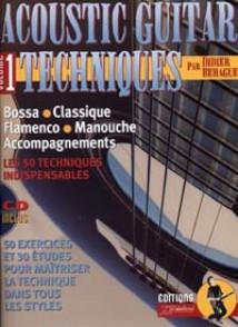 BEHAGUE D. ACOUSTIC GUITAR TECHNIQUES VOL 1 GUITARE TAB