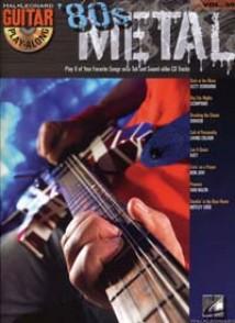 GUITAR PLAY-ALONG VOL 39 80S METAL