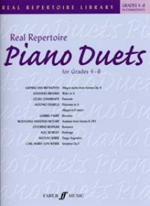 REAL REPERTOIRE PIANO DUETS GRADE 4 - 6