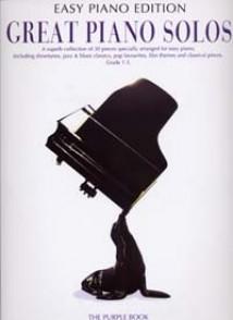 GREAT PIANO SOLOS EASY PIANO PURPLE EDITION