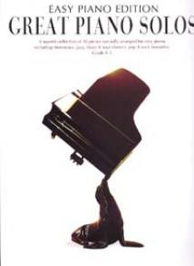 GREAT PIANO SOLOS EASY PIANO BLACK EDITION