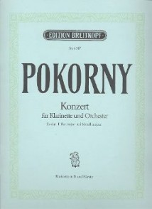 POKORNY F.X. CONCERTO CLARINETTE SIB