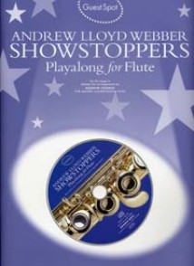 GUEST SPOT A.L. WEBBER SHOWSTOPPERS PLAY-ALONG FOR FLUTE
