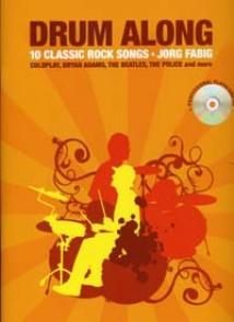 DRUM ALONG 10 CLASSIC ROCK SONGS CD