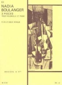 BOULANGER N. 3 PIECES N°3 VIOLONCELLE