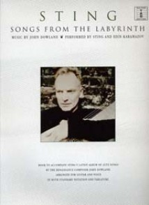STING SONGS FROM THE LABYRINTH GUITARE