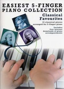 EASIEST 5 FINGER CLASSICAL FAVOURITES PIANO