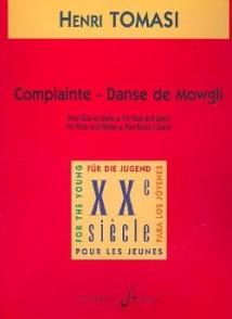 TOMASI H. COMPLAINTE - DANSE DE MOWGLI FLUTE