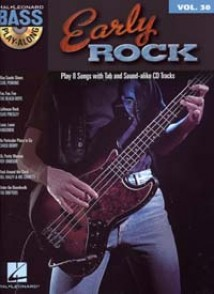 BASS PLAY-ALONG VOL 30 EARLY ROCK