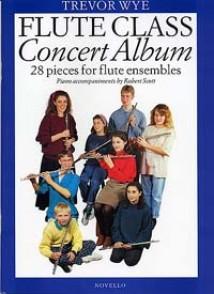 FLUTE CLASS CONCERT ALBUM 28 PIECES FLUTES