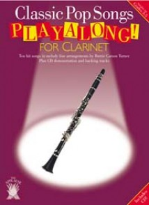 PLAYALONG  CLASSIC POP SONGS CLARINET