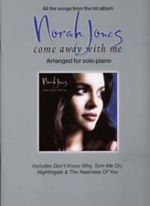 JONES N. COME AWAY WITH ME PIANO