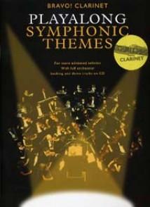 PLAYALONG SYMPHONIC THEMES CLARINETTE
