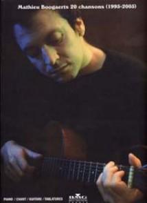 BOOGAERTS MATHIEU 20 CHANSONS (1995-2005)