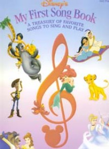 DISNEY'S MY FIRST SONG BOOK VOL 1 PVG