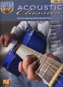 ACCOUSTIC CLASSICS GUITARE TABLATURE VOL 33